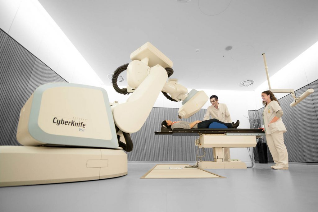 CyberKnife Robotic Radiotherapy